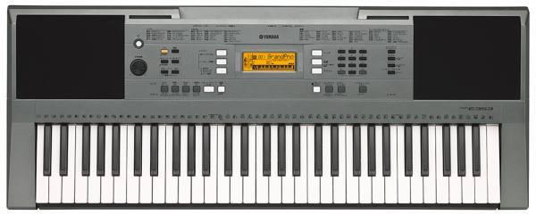 Analyse du piano PSR-E343