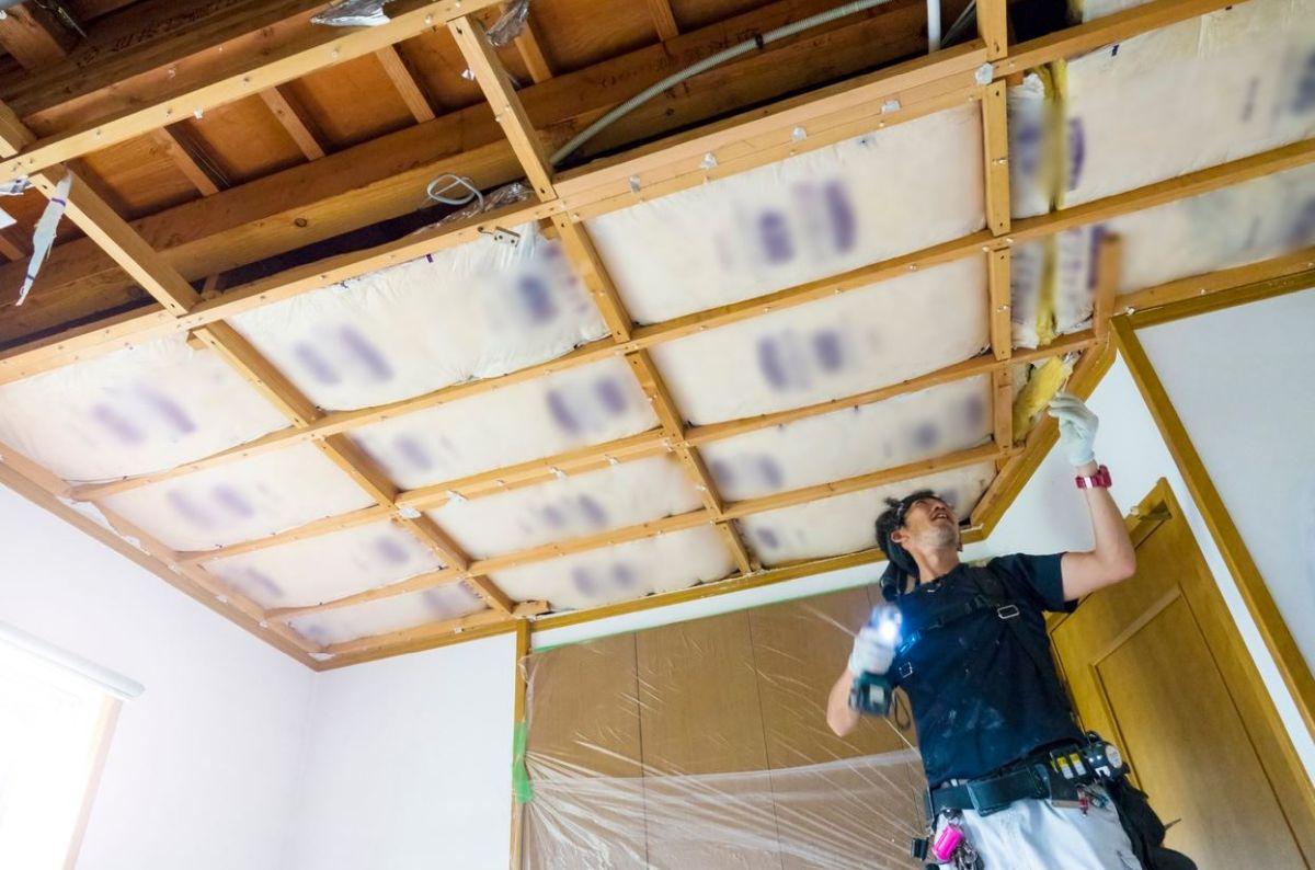 isolation phonique du plafond