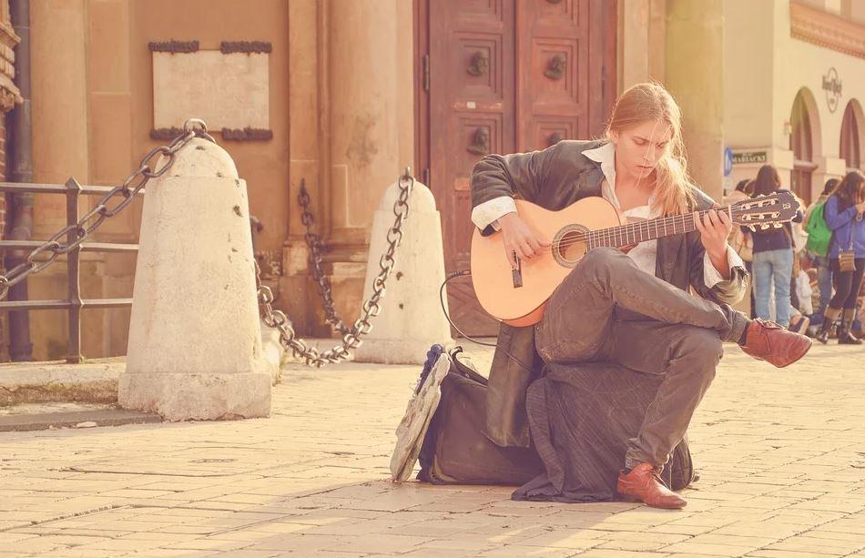 musique dans la rue