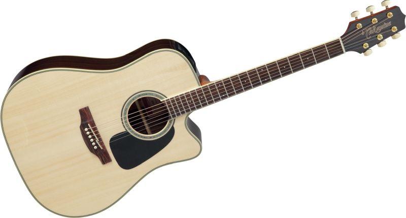Présentation des guitares Takamine