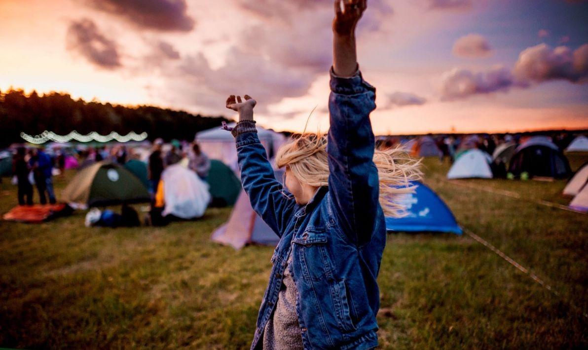 tente pour festival de musique