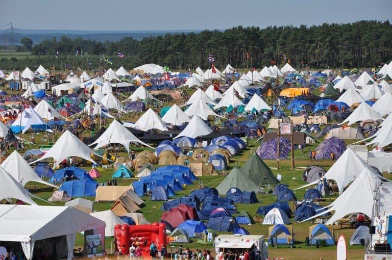 tentes festival